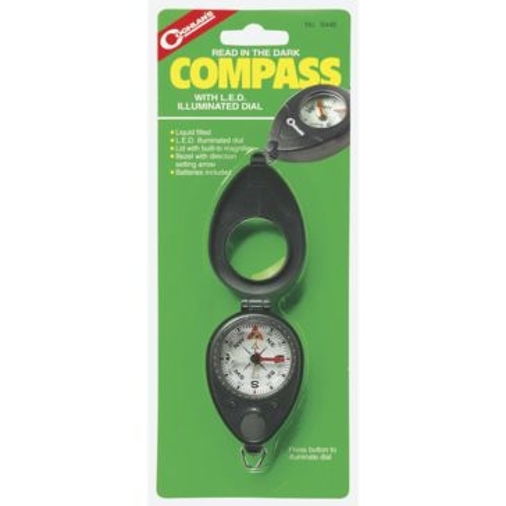 Coghlans Compass with L.E.D. 0448
