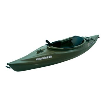 Sun Dolphin Excursion 10ft Sit-in Fishing Kayak Green