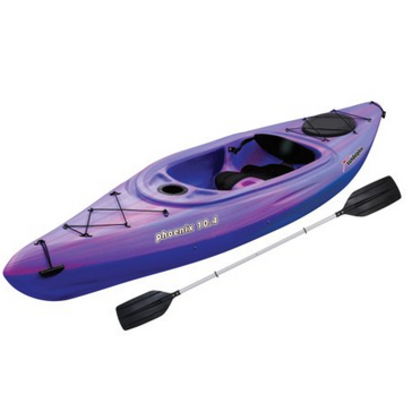 Sun Dolphin Phoenix 10.4 Purple/Pink Sit-In Kayak 53481-P