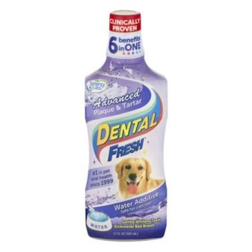 Dental Fresh Advanced Plaque & Tartar Water Additive for Dogs