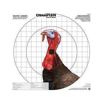 Champion Target Re-Stick Turkey Sight-In Target 46114