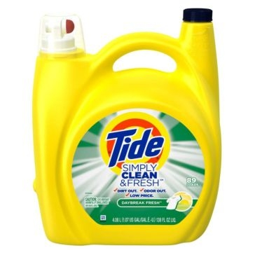 Tide Simply Clean & Fresh Daybreak Fresh Laundry Detergent 138oz