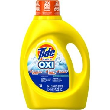 Tide Simply Clean & Fresh Simply OXI Laundry Detergent 115oz