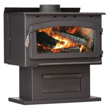 US Stove King 2000sqft EPA Certified Wood Stove w/Blower