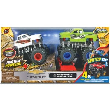 Jam'N Products Monster Maniacs Off-Road Chevy Set