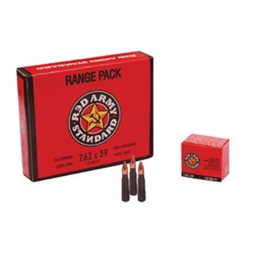 Red Army Standard 7.62x39mm 122 GR HP 20RD