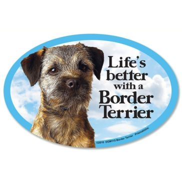 Pristmax  Lifes Better With A Border Terrier Magnet