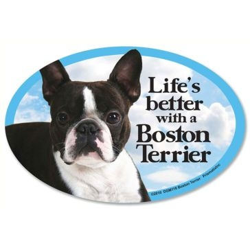 Prismatix  Lifes Better With A Boston Terrier Magnet