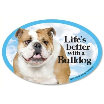 Prismatix  Lifes Better With A Bulldog Magnet