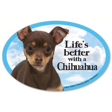 Prismatix  Lifes Better With A Chihuahua Multi Magnet