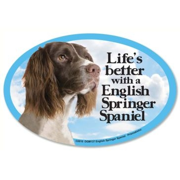 Prismatix  Lifes Better With A English Springer Spaniel Magnet