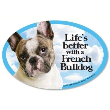 Prismatix Lifes Better With A French Bulldog Magnet