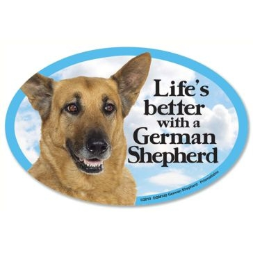 Prismatix  Lifes Better With A German Shepherd Magnet