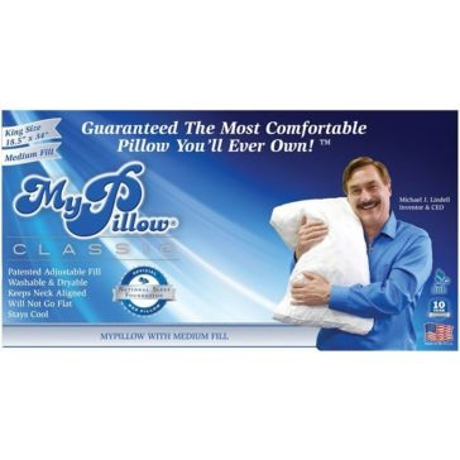MyPillow Classic Pillow King Size Medium Fill