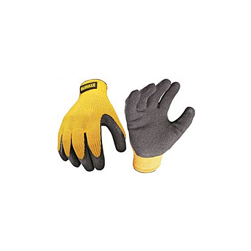 Dewalt Texture Rubber Coated Gloves