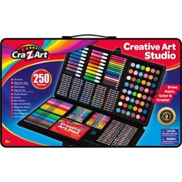 Cra-Z-Art Super Art Set 250 PCS