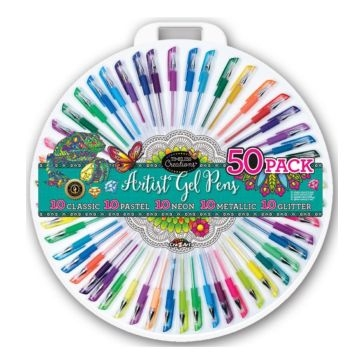 Cra-Z-Art Timeless Creations Gel Pen Wheel - 50 Pack