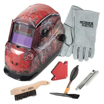 Lincoln KH961 Grunge Auto-Darkening Welding Helmet Kit