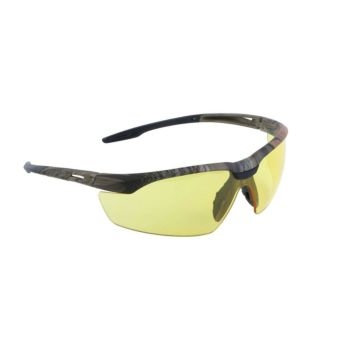 Lincoln Electric Camo Frame Amber Lens Safety Glasses KH970