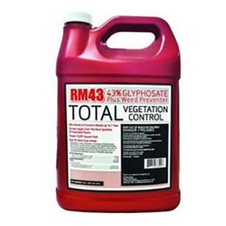 RM43 128oz 43% Glyphosate Plus Weed Preventer
