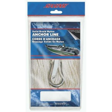 "SeaSense 3/16""x75' Braid Anchor Line 50013049"
