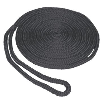 "SeaSense 3/8""x15' Double Braid MFP Dockline in Black 50013270"