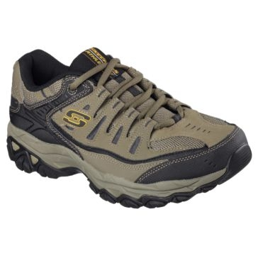 Skechers Men's After Burn Casual Shoe Pebble