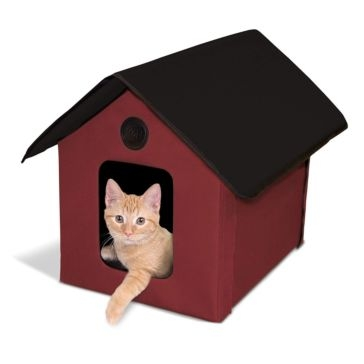 K&H Outdoor Heated Kitty House & Barn