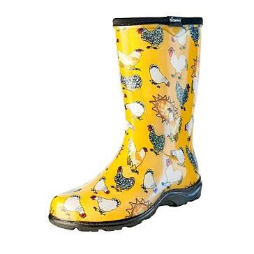 Sloggers Daffodil Yellow Chicken Boots