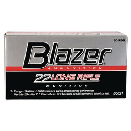 Blazer Rimfire Ammunition High Velocity 22 Long Rifle