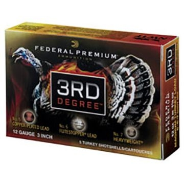 Federal Premium 3rd Degree Turkey Loads 12ga 3-1/2""