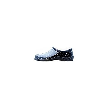 Sloggers Black Polka Dot Clogs