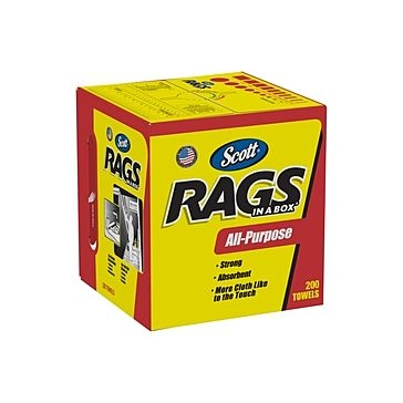 Scott All Purpose Rags in a Box 200ct
