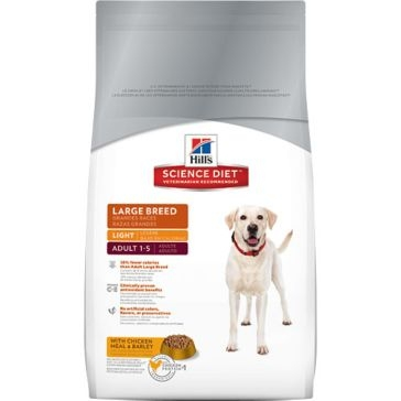 Hill's Science Diet Adult Light Large Breed Dry Dog Food 33lb