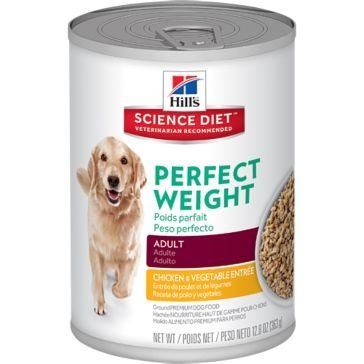 Hills Science Diet Adult Dog Perfect Weight Chicken & Vegetable Entrée