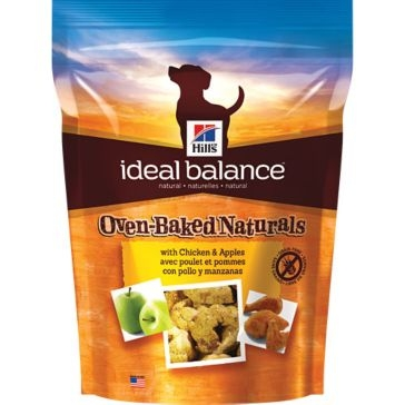 Hill's Ideal Balance Oven-Baked Naturals Dog Treats with Chicken & Apples 8oz