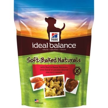 Hill's Ideal Balance Soft-Baked Naturals with Beef & Sweet Potato Dog Treats 8oz