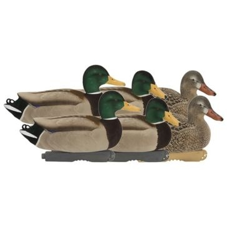 Avery Pro-Grade Fully Flocked Mallards Active Pack Duck Decoy 6pk