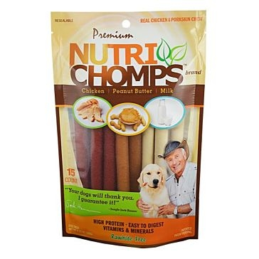 Nutri Chomps Assorted Mini Twist 15 Ct.