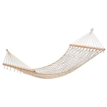 Backyard Expressions One Person Rope Hammock