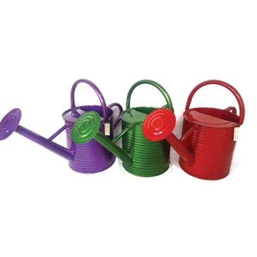 Backyard Expressions Colored Watering Can 1.5gal Asst