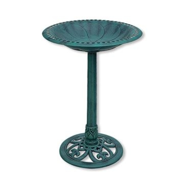 Backyard Expressions Resin Bird Bath 912451