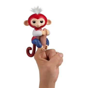 License 2 Play Toys Fingerlings Glitter Monkey Special - Liberty