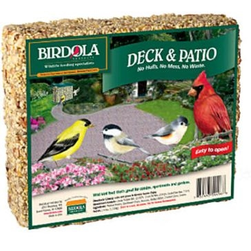Birdola 2lb Deck and Patio Cake 54496