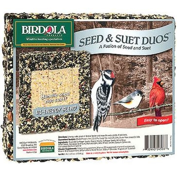 Birdola 1.7lb Duo Cake High Energy 54508