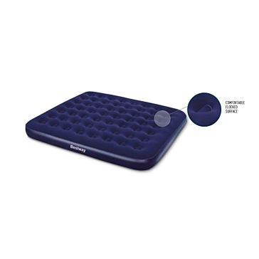 Bestway Queen Size Flocked Airbed 67003E