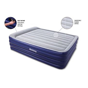 Bestway Queen Size Nightright Raised Airbed 67529E