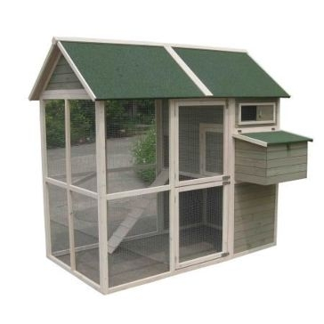Innovation Pet Coops & Feathers Walk In Chicken Coop 220-05