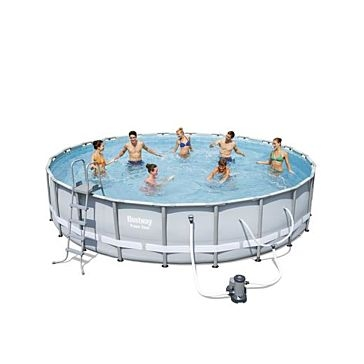 "Bestway Power Steel Frame Pool 22' x 52"" 56392E"