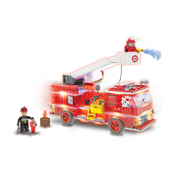 Laser Pegs Fire Truck Building Set